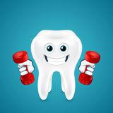 dente-que-faz-exercícios-com-pesos-42537097